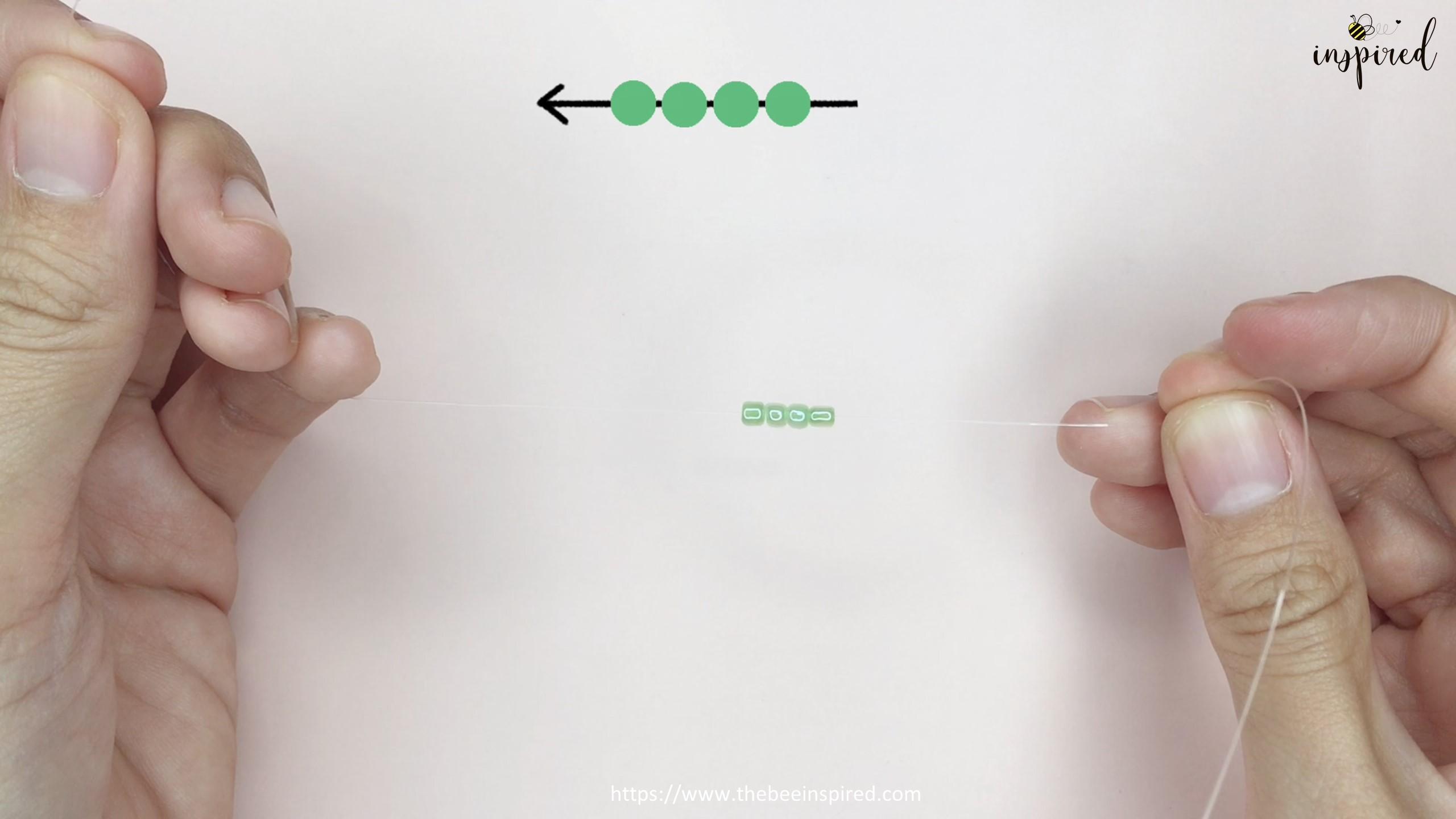 สอนร้อยแหวนลูกปัดลายกบ Kero ทำง่ายๆ สไตล์เกาหลี - How to Make Kero Frog Beaded Ring_3