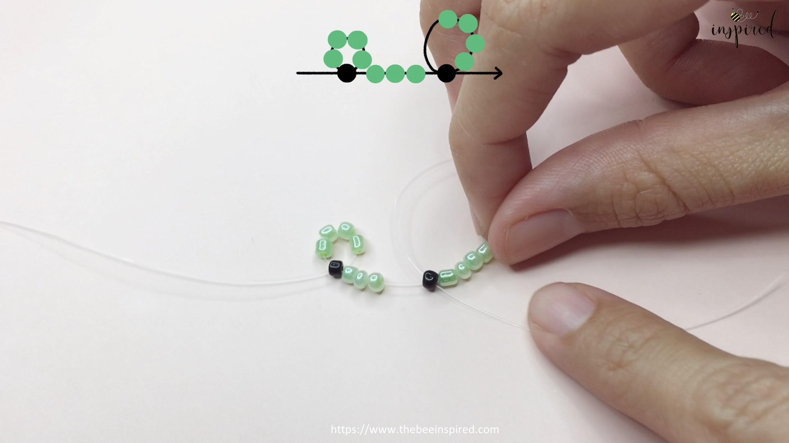 สอนร้อยแหวนลูกปัดลายกบ Kero ทำง่ายๆ สไตล์เกาหลี - How to Make Kero Frog Beaded Ring_7