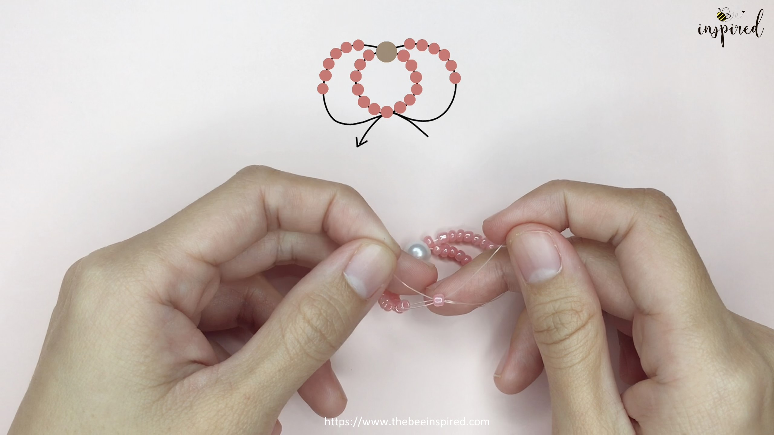 Easy DIY Beaded Ring วิธีทำแหวนลูกปัดง่ายๆ สไตล์เกาหลี_11