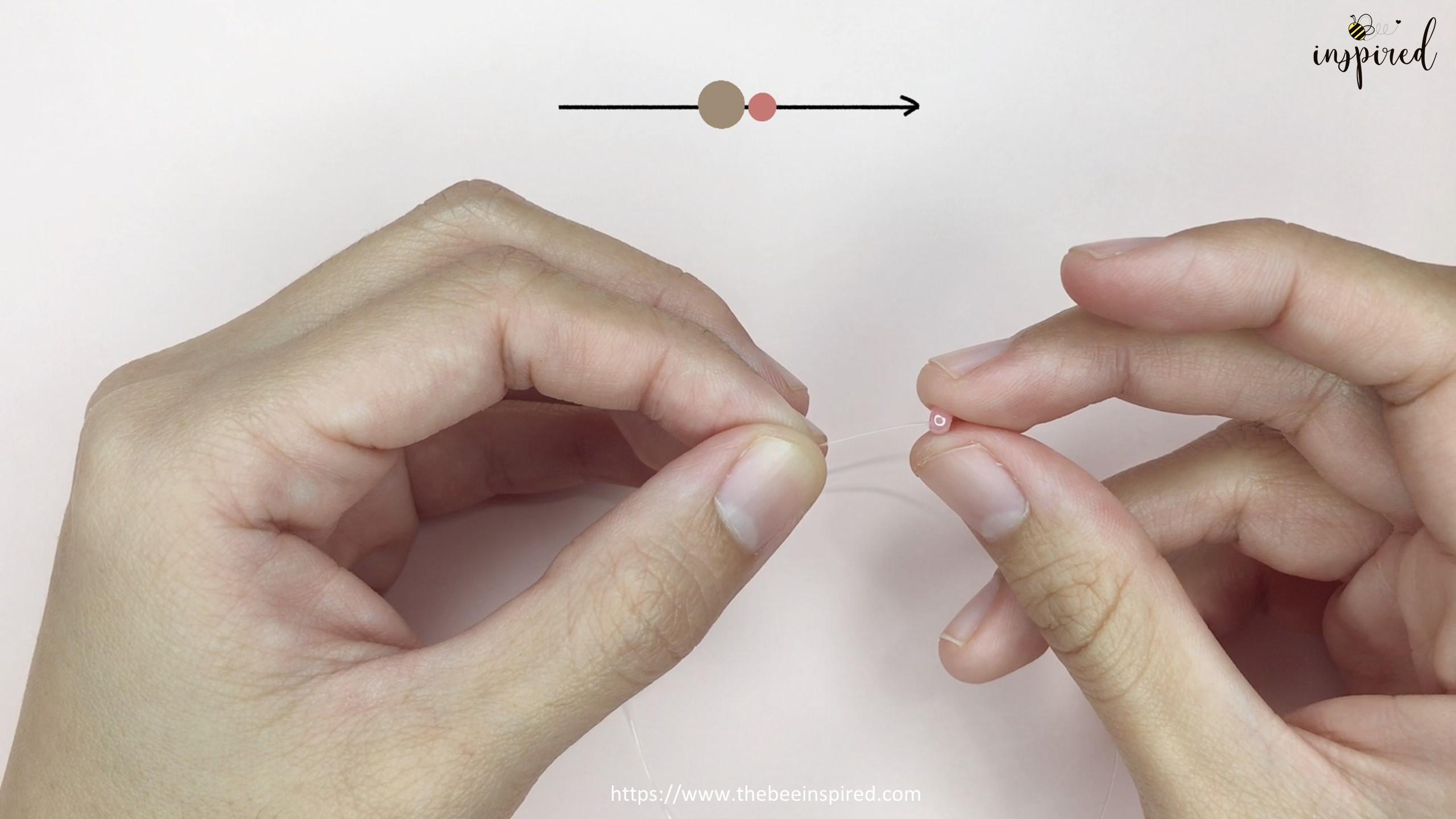 Easy DIY Beaded Ring วิธีทำแหวนลูกปัดง่ายๆ สไตล์เกาหลี_2