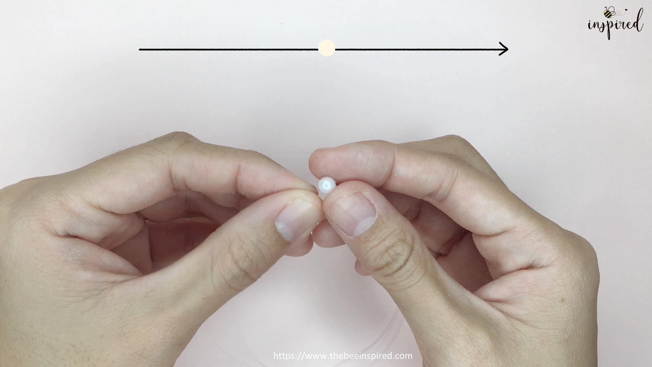 HOW TO MAKE BOWKNOT RIBBON BEADED RING สอนทำแหวนลูกปัดโบว์ง่ายๆ_1