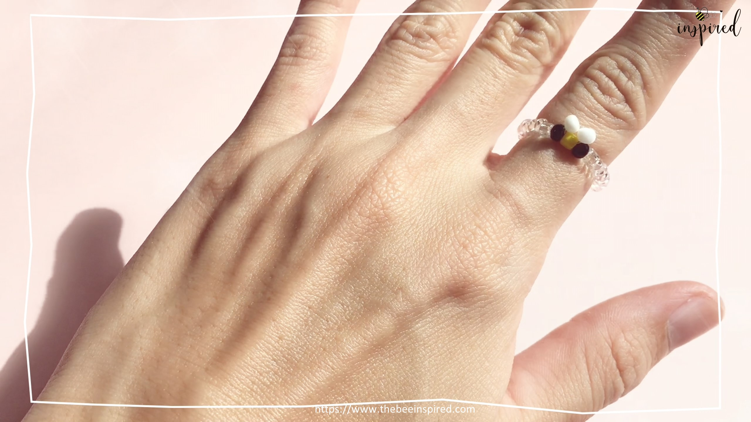 How to Make Bee Beaded Ring_16