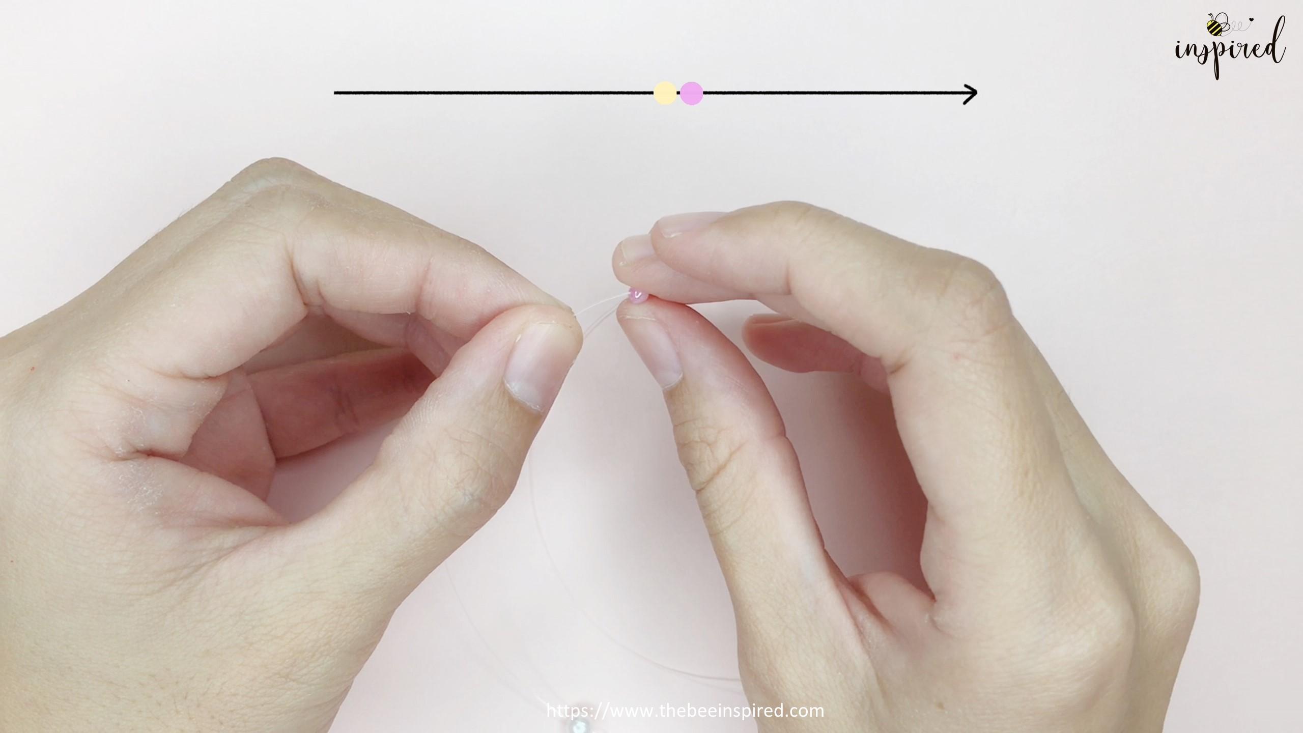 How to Make Bowknot Ribbon Beaded Ring_2