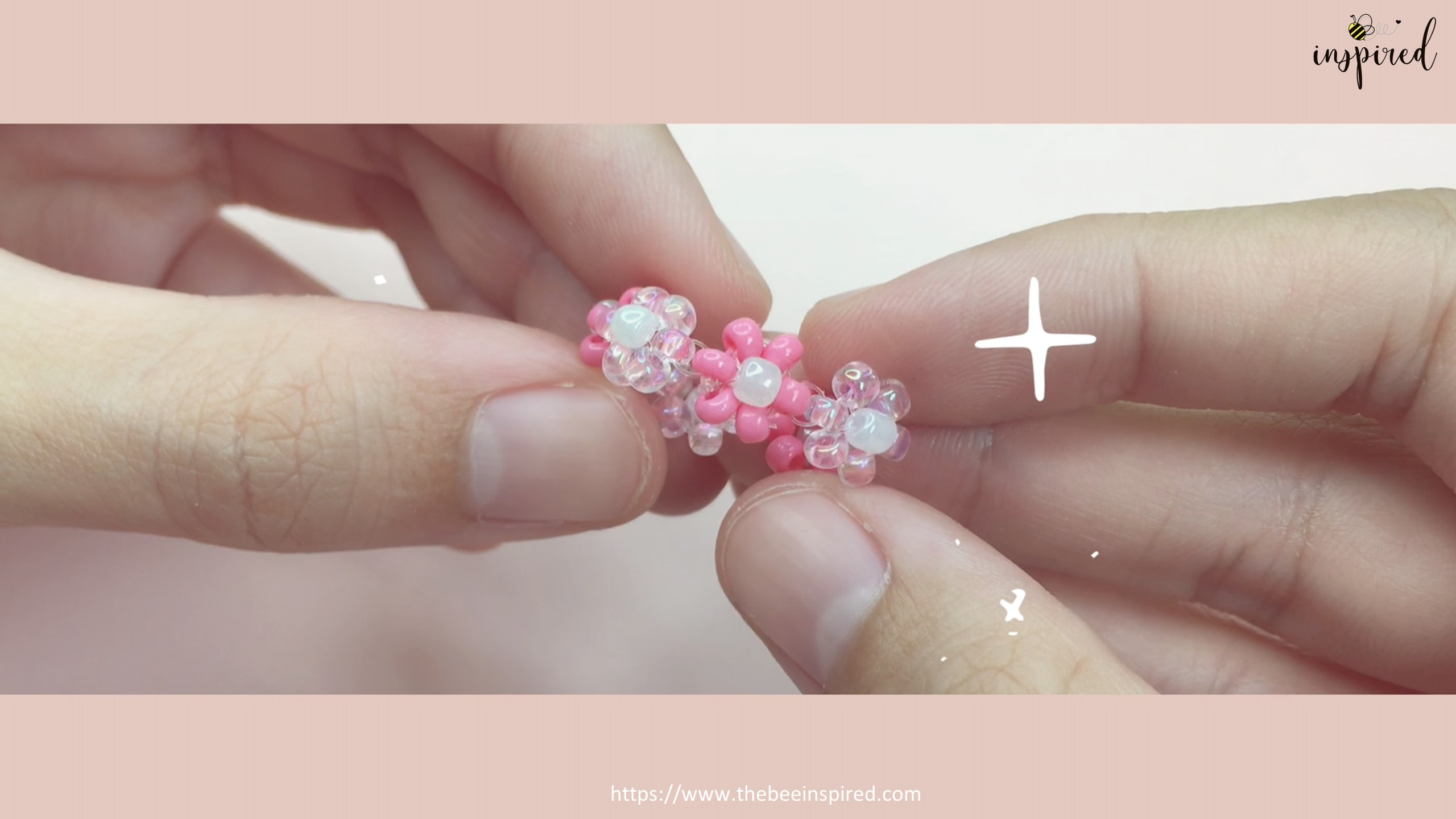 How to Make Daisy Flower Beaded Ring_37