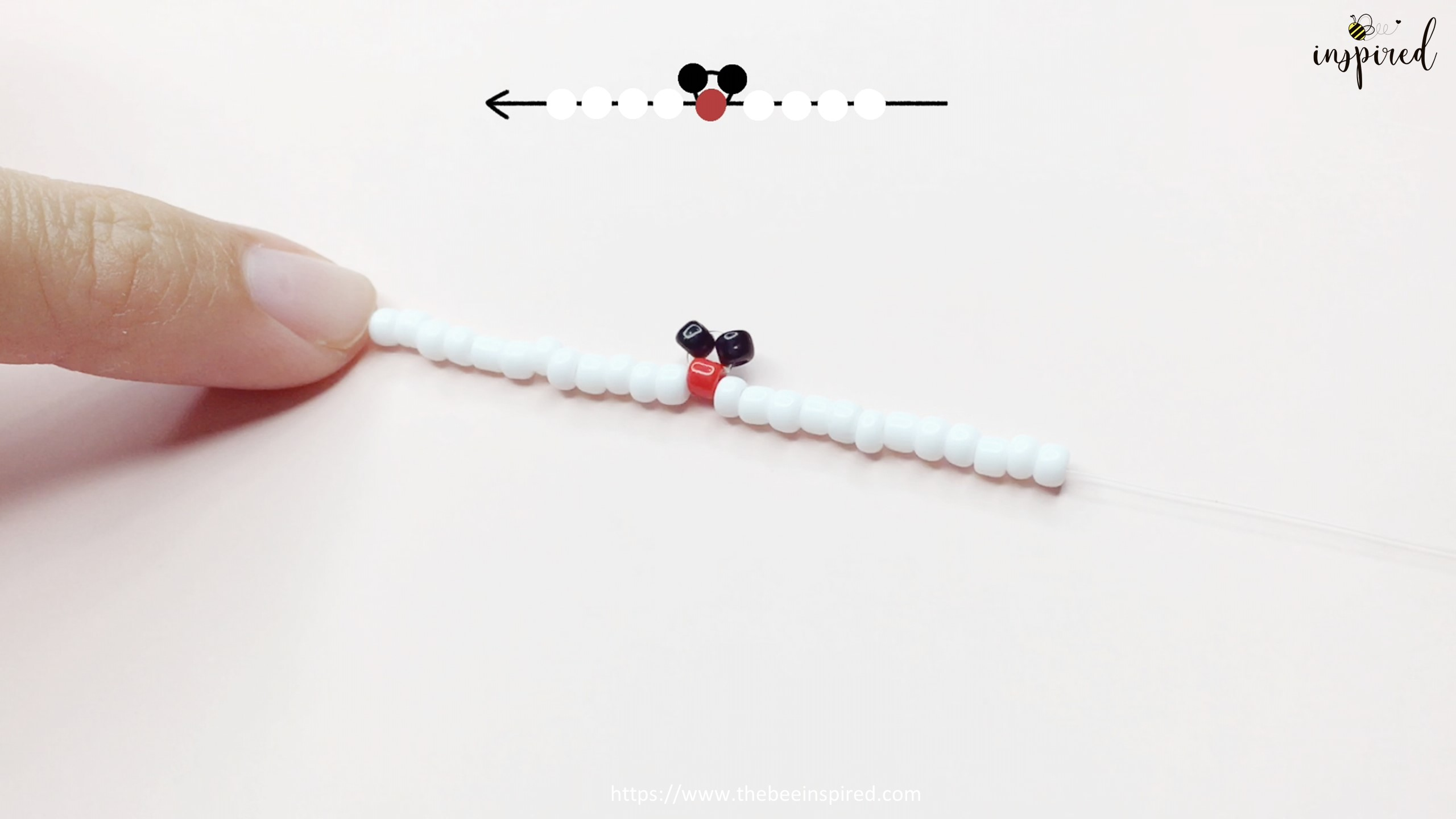 How to Make Mickey Mouse Beaded Ring_7