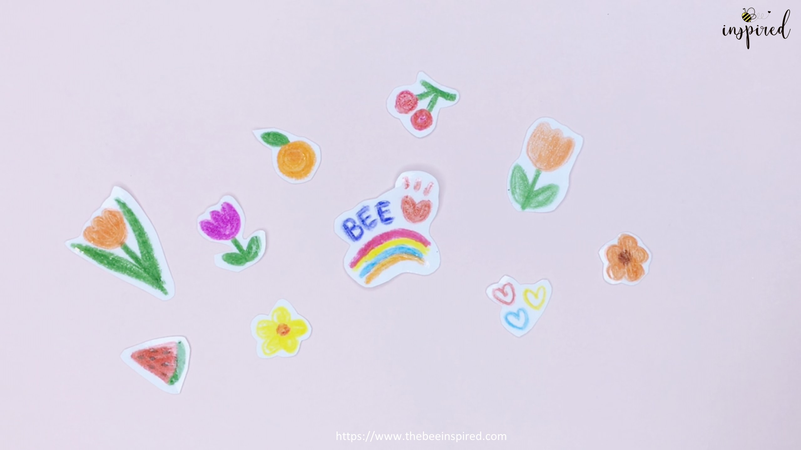 DIY Sticker from drawing with my stationery_10