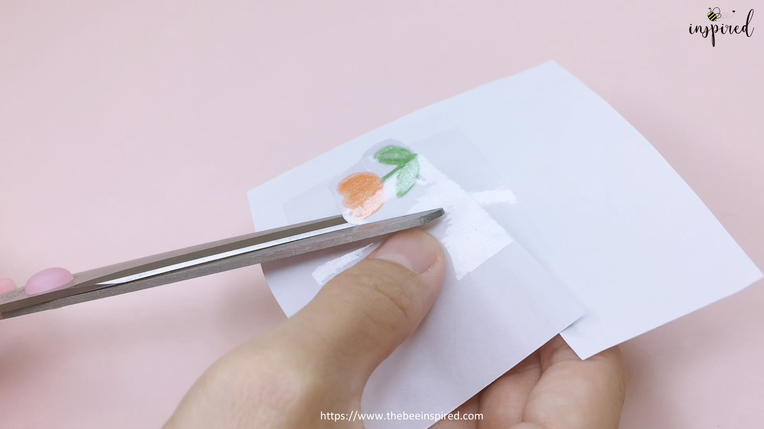 DIY Sticker from drawing with my stationery_9