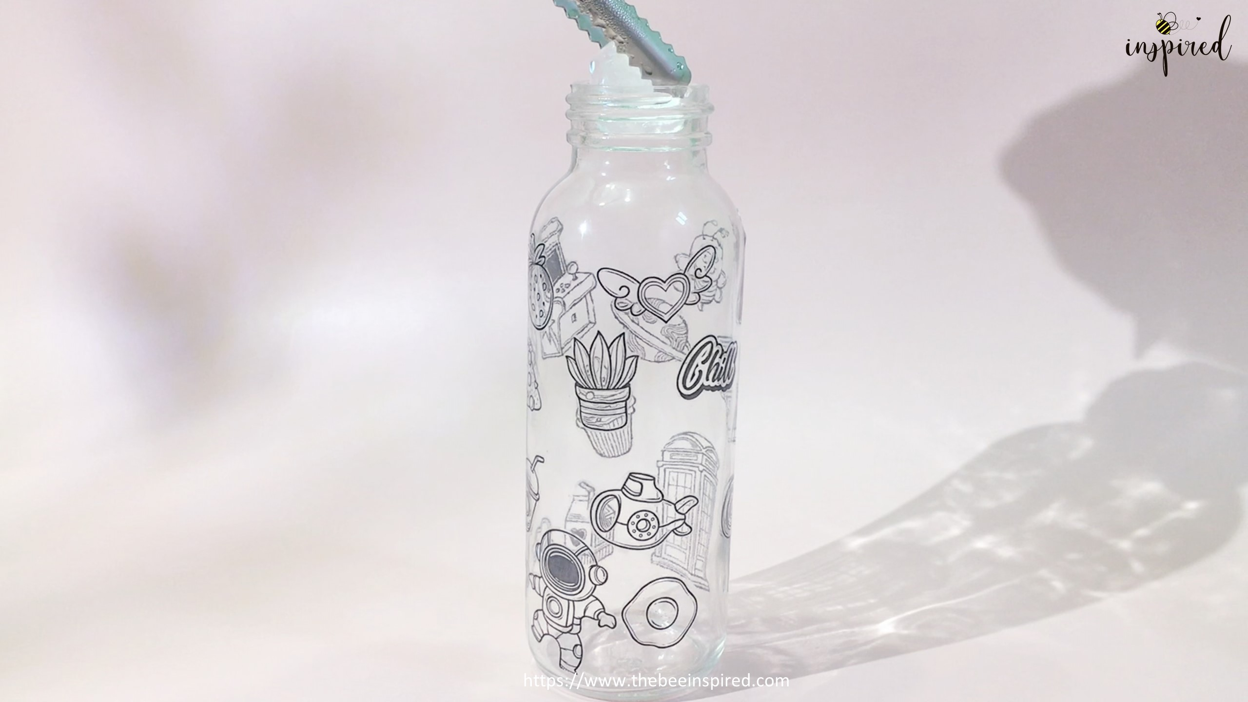 Water Resistant Test with ClearTransparent Sticker from Clear Packaging Tape_1