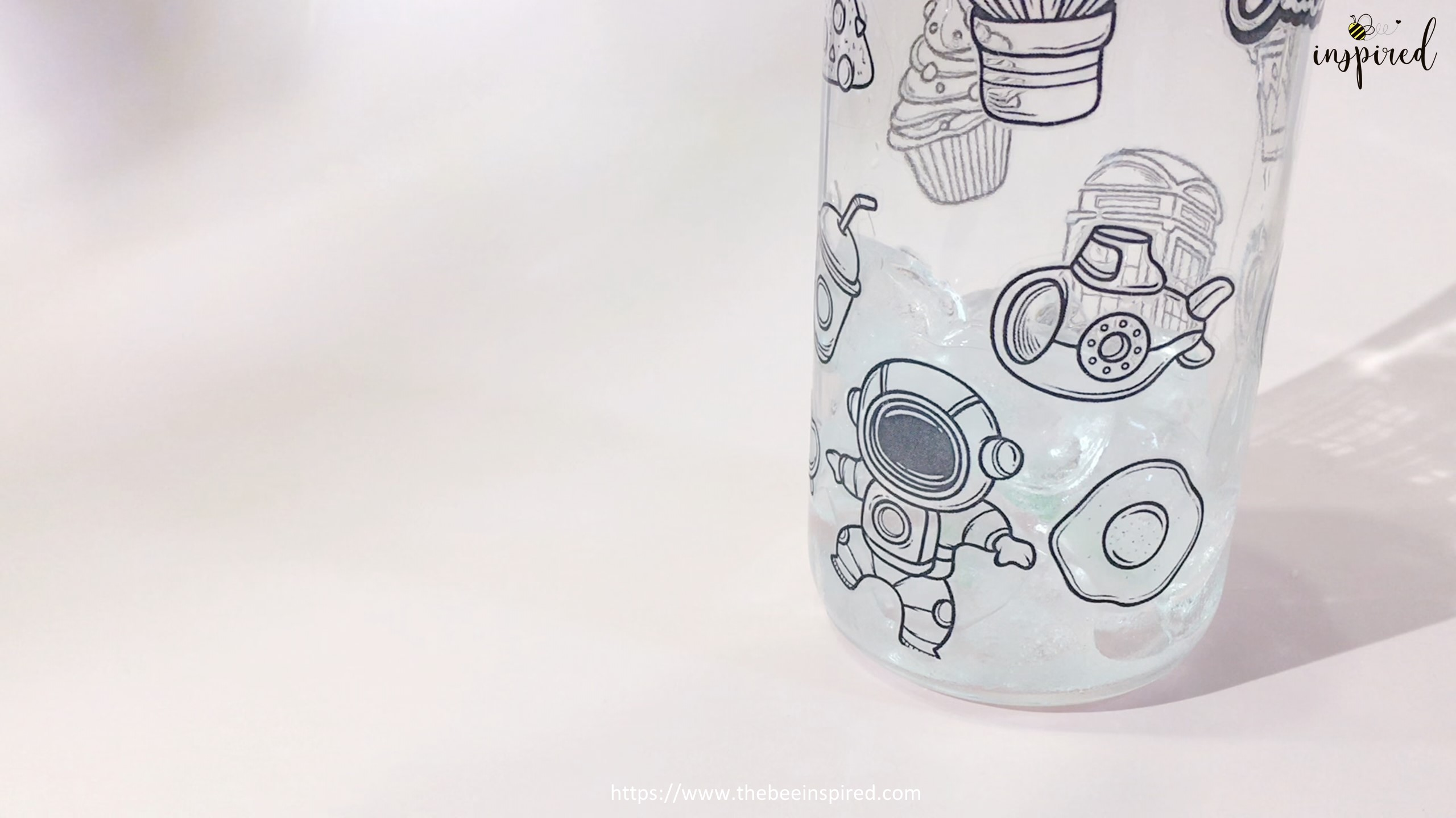 Water Resistant Test with ClearTransparent Sticker from Clear Packaging Tape_2