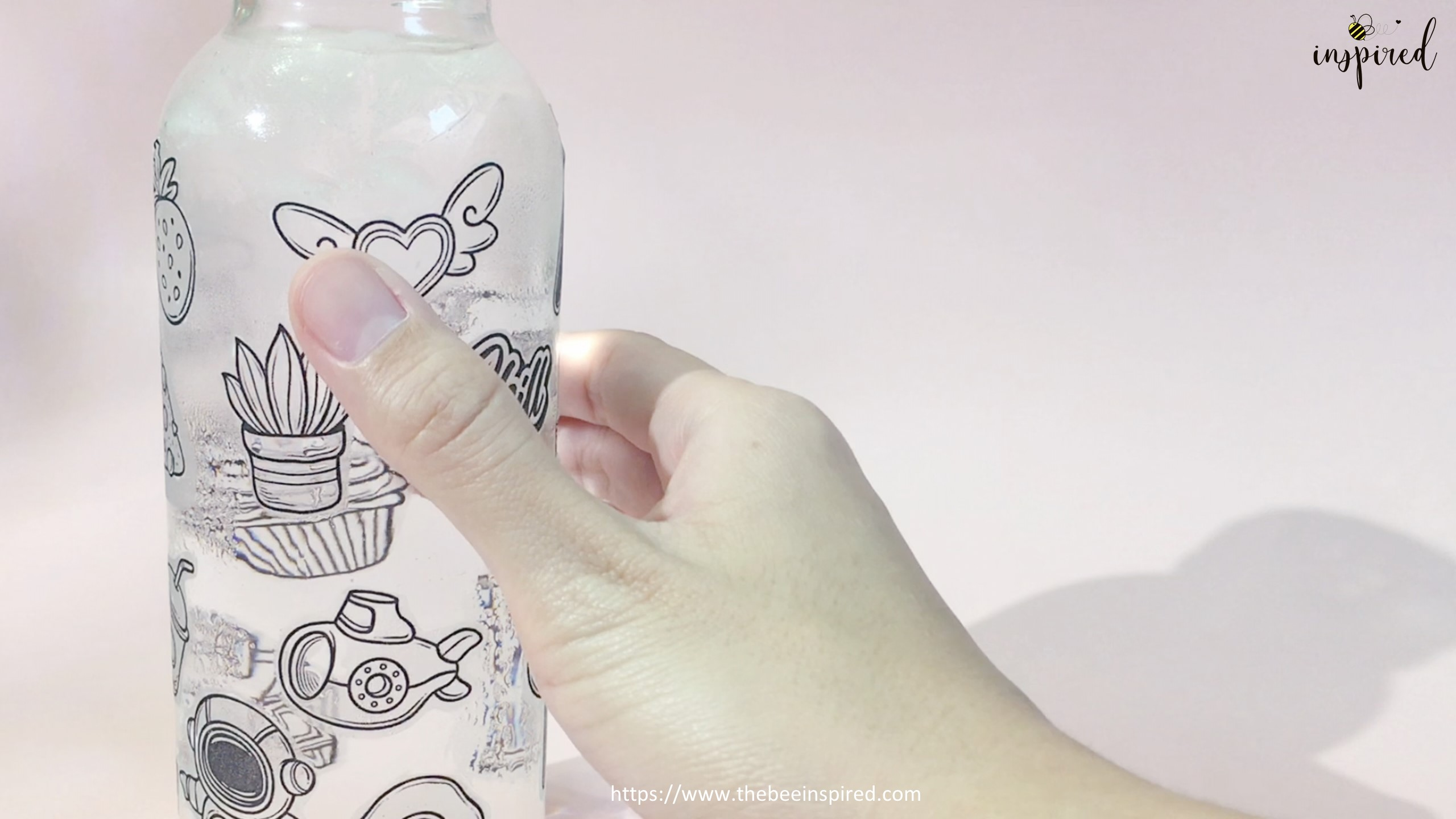 Water Resistant Test with ClearTransparent Sticker from Clear Packaging Tape_4